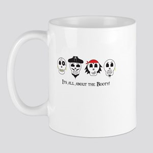 All About The Booty Pirates Mug