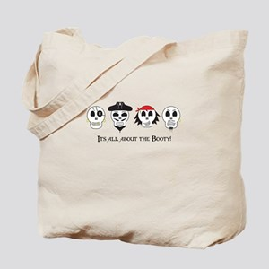 All About The Booty Pirates Tote Bag