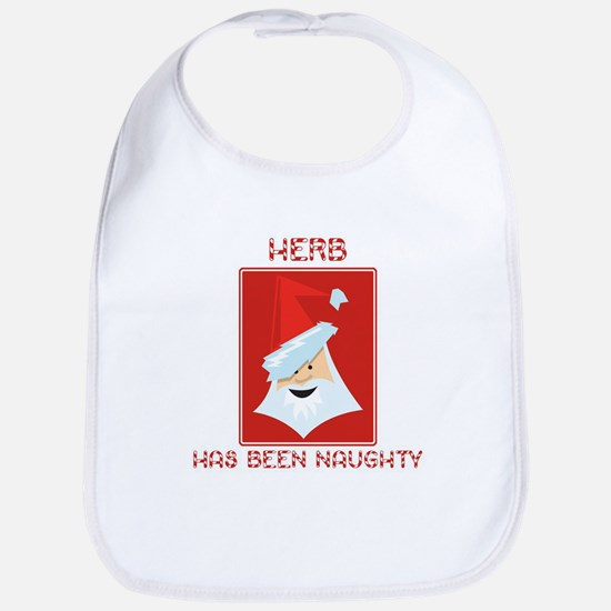 HERB has been naughty Bib