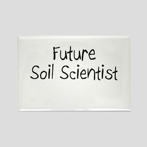 Future Soil Scientist Rectangle Magnet