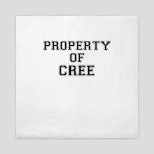 Property of CREE Queen Duvet