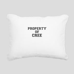 Property of CREE Rectangular Canvas Pillow