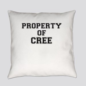 Property of CREE Everyday Pillow
