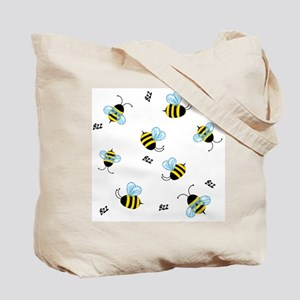 Honey Bees Bzz Bzz Tote Bag