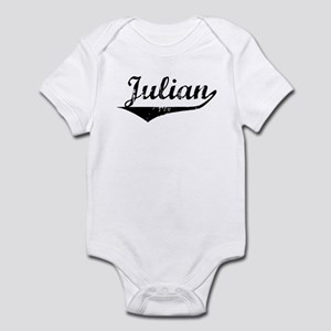 Julian Vintage (Black) Infant Bodysuit