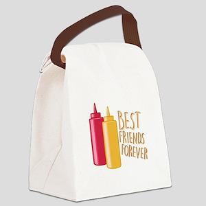 Best Friends Canvas Lunch Bag