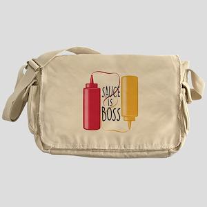 Sauce Is Boss Messenger Bag