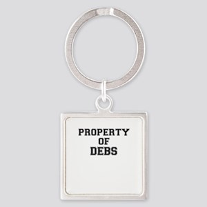 Property of DEBS Keychains