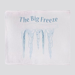 Big Freeze Throw Blanket