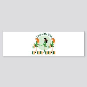 Luck Of Irish Bumper Sticker