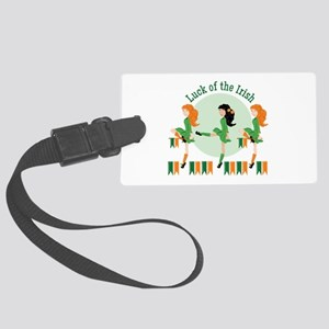 Luck Of Irish Luggage Tag