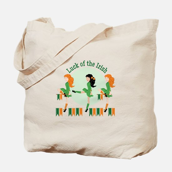 Luck Of Irish Tote Bag