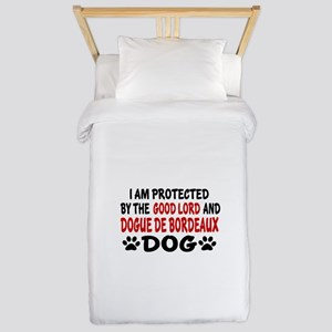 Protected By Dogue de Bordeaux Twin Duvet