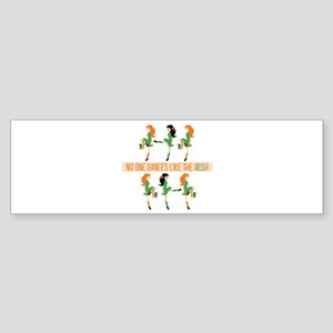 Dance Like Irish Bumper Sticker