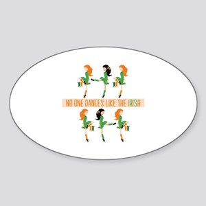 Dance Like Irish Sticker