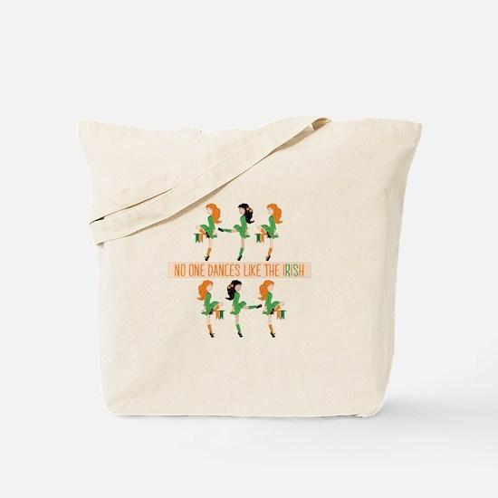 Dance Like Irish Tote Bag