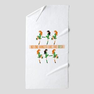 Dance Like Irish Beach Towel