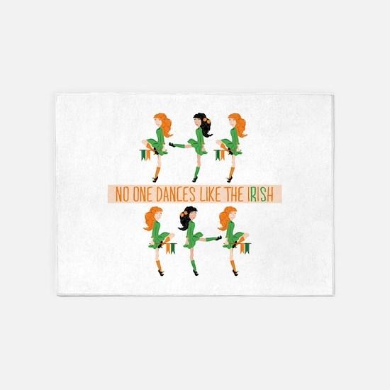 Dance Like Irish 5'x7'Area Rug