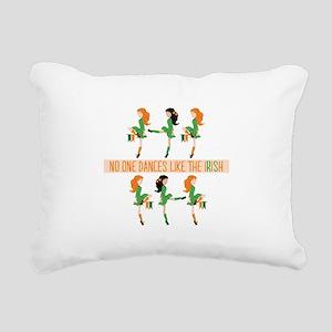 Dance Like Irish Rectangular Canvas Pillow
