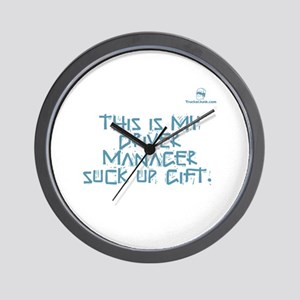 This is my Driver Manager suc Wall Clock