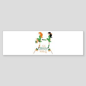 Get Jiggy Bumper Sticker