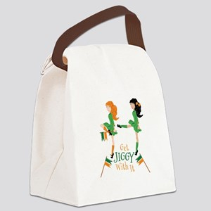 Get Jiggy Canvas Lunch Bag