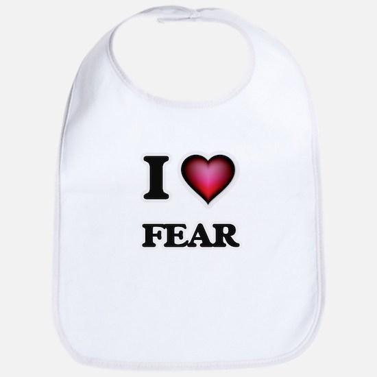 I love Fear Bib