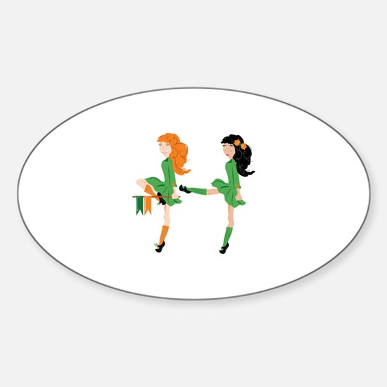 Irish Dancer Decal
