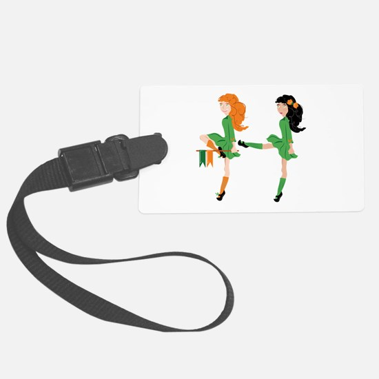 Irish Dancer Luggage Tag