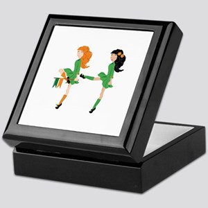 Irish Dancer Keepsake Box