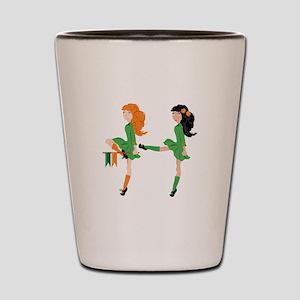 Irish Dancer Shot Glass