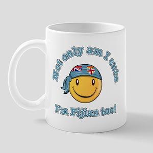 Not only am I cute I'm Fijian too Mug