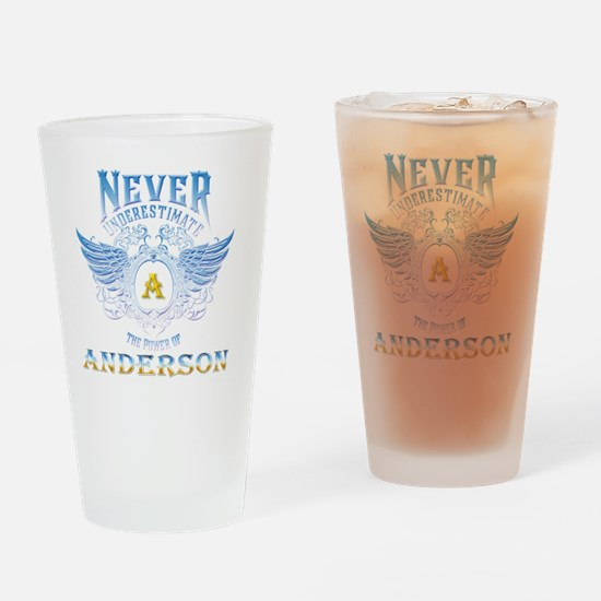 Funny Anderson Drinking Glass