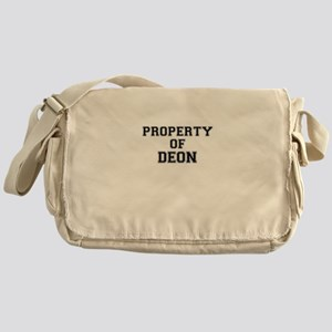 Property of DEON Messenger Bag