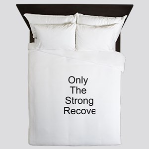 Only the Strong Recover Queen Duvet