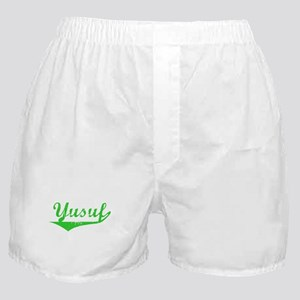 Yusuf Vintage (Green) Boxer Shorts