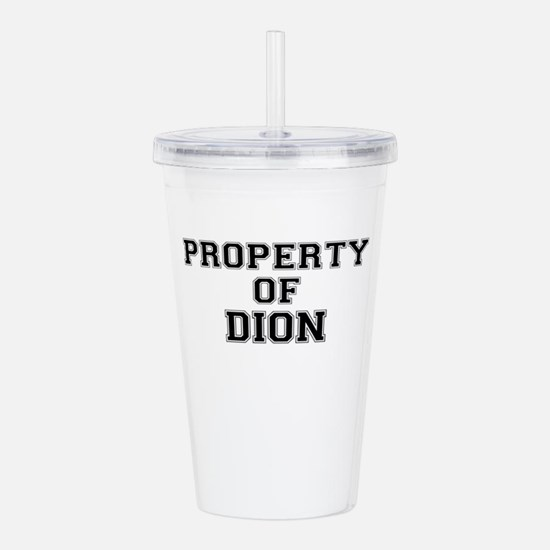 Property of DION Acrylic Double-wall Tumbler