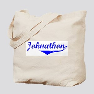 Johnathon Vintage (Blue) Tote Bag