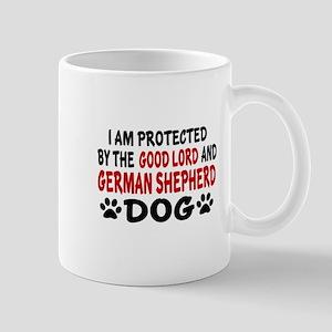Protected By German Shepherd Mug