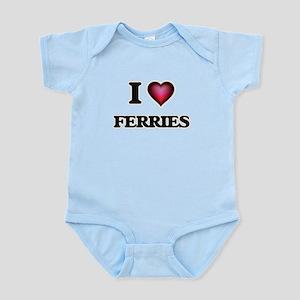 I love Ferries Body Suit