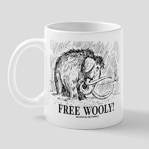Free Wooly Mammoth Mug
