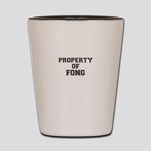 Property of FONG Shot Glass
