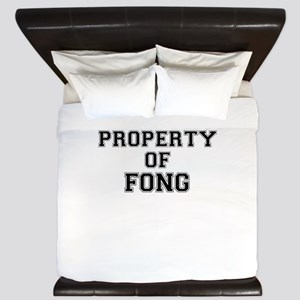 Property of FONG King Duvet