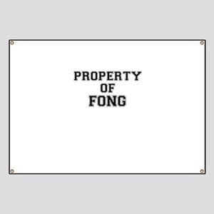 Property of FONG Banner