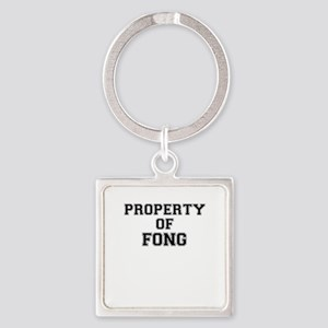 Property of FONG Keychains