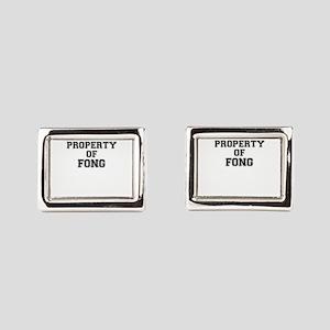 Property of FONG Rectangular Cufflinks