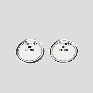 Property of FONG Oval Cufflinks