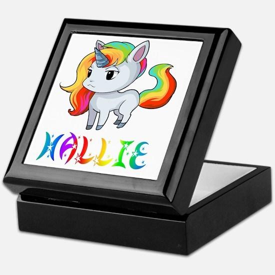 Funny Hallie Keepsake Box