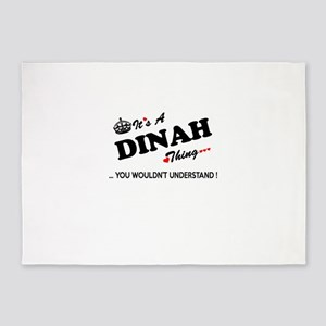 DINAH thing, you wouldn't understan 5'x7'Area Rug