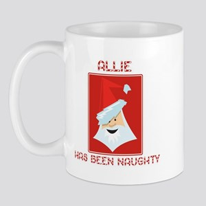 ALLIE has been naughty Mug